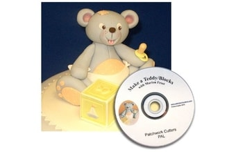 Teddy-3D patchwork+DVD