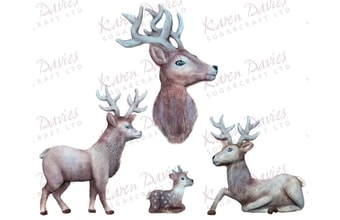 MOULDS - Rustic Stag by Alice