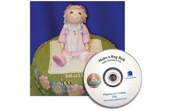 Rag Doll-3d patchwork+dvd